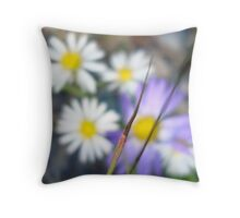 The Colors of Nature Throw Pillow