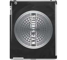 Manhole Covers NYC iPad Case/Skin