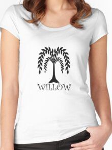 willow tree Women's Fitted Scoop T-Shirt