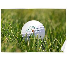 pinehills golf ball Poster