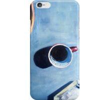 Morning coffee ritual iPhone Case/Skin