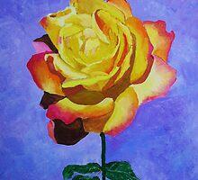 Tea Rose by Rodney Campbell