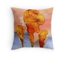 Slow Spines Throw Pillow