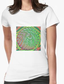 #66 Colour wheel Womens Fitted T-Shirt