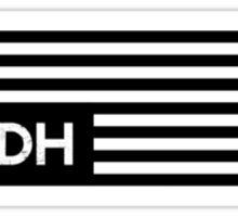 Dark Herb Nation Flag Sticker