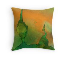 Early Moss Throw Pillow