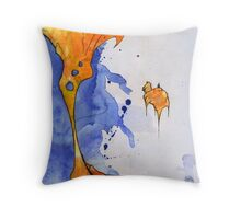 Glósóli 01 Throw Pillow