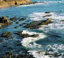 #563  California Coastline Sticker
