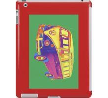 Classic VW 21 window Mini Bus Pop Art Image iPad Case/Skin