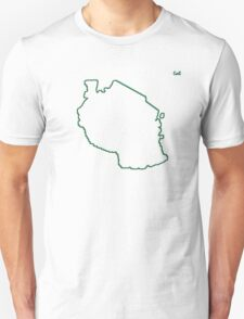 """Tanzania """"Citizen of the Earth"""" large T-Shirt"""