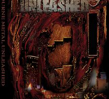 melbourne metal unleashed DVD cover art by Peter Maudsley
