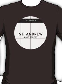 ST. ANDREW Subway Station T-Shirt
