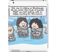 Game of Thrones - Worg iPad Case/Skin