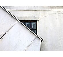 White Wall  Photographic Print
