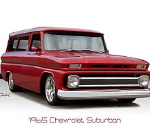 1965 Chevrolet 'Custom' Suburban by DaveKoontz