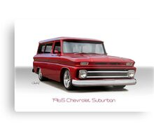 1965 Chevrolet 'Custom' Suburban Metal Print