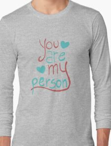 My person Long Sleeve T-Shirt