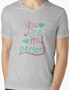 My person Mens V-Neck T-Shirt