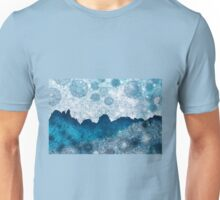 Midnight Blue Glacier Unisex T-Shirt