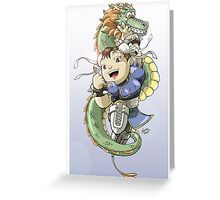 Chinese Fighter Greeting Card