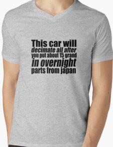 This car will decimate all.... Mens V-Neck T-Shirt