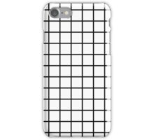 Thick Grid iPhone Case/Skin