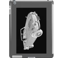 Black And White Triumph Tr4  Sports Car iPad Case/Skin