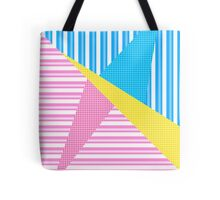 Dotted Stripes Tote Bag