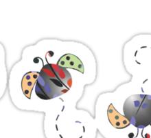 Ladybird T Shirt Sticker