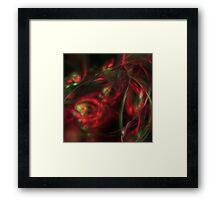Redrum 3 Framed Print