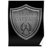 Team Captain Poster