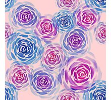 Rose Pattern Photographic Print