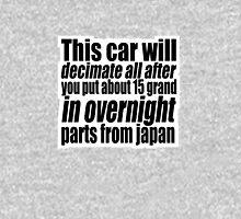 This car will decimate all.... 2 Unisex T-Shirt