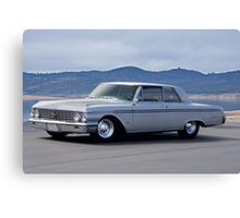 1962 Ford 'Custom' Galaxie Canvas Print