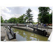 The Barge Lock, Stratford Poster