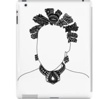 Pen & Ink  Drawing Bantu Knots iPad Case/Skin