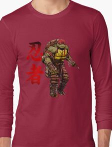 Red Power Long Sleeve T-Shirt