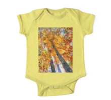 Autumn Trees In The Sky One Piece - Short Sleeve