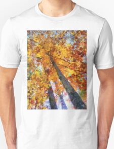 Autumn Trees In The Sky T-Shirt