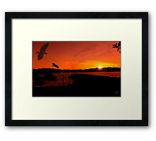 It's All About Us Framed Print