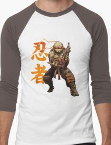 Cowabunga Dude Men's Baseball ¾ T-Shirt