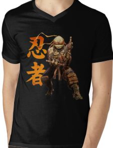Cowabunga Dude Mens V-Neck T-Shirt