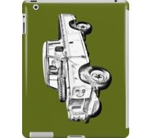 1971 Land Rover Pick up Truck Drawing iPad Case/Skin