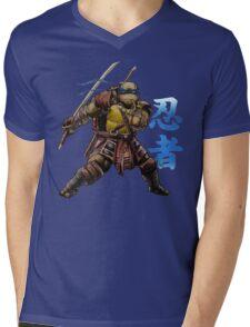 Blue Leader Mens V-Neck T-Shirt