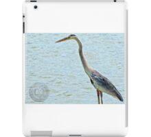 Blue Heron iPad Case/Skin