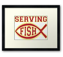 Serving FISH!  [Rupaul's Drag Race] Framed Print