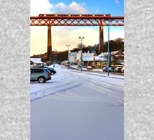 Queensferry Promenade in the snow Unisex T-Shirt