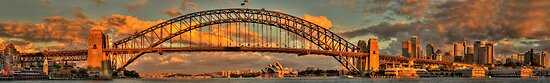 Point To Point - Sydney Harbour Bridge (35 Exposure HDR Panorama) - The HDR Experience by Philip Johnson