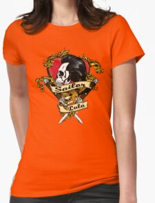 Wild At Heart In Full Romantic Color Womens Fitted T-Shirt