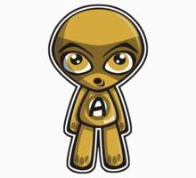Awestruck Mascot Kids Tee